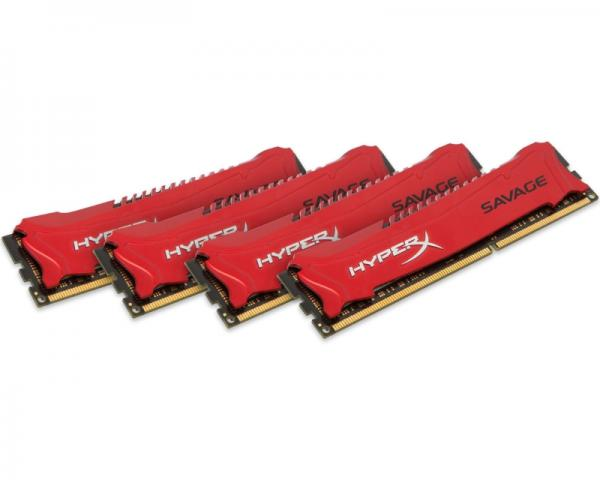 KINGSTON DIMM DDR3 32GB (4x8GB kit) 2400MHz HX324C11SRK4/32 HyperX XMP Savage