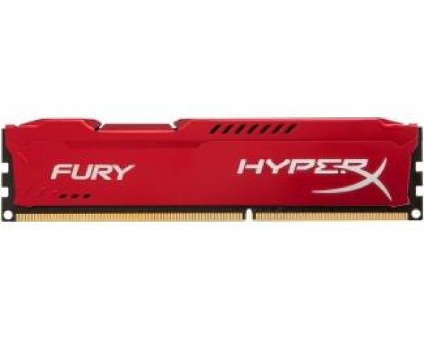 KINGSTON DIMM DDR3 8GB 1600MHz HX316C10FR/8 HyperX Fury Red