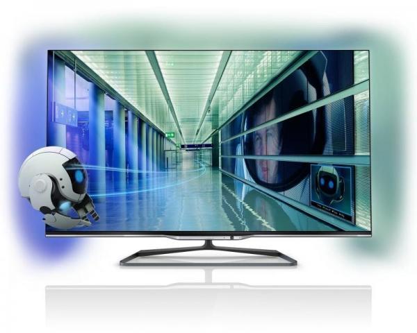 PHILIPS 55 55PFL7008K/12 Smart 3D LED Full HD Ambilight LCD TV