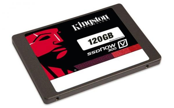 SSD disk Kingston 120GB, SSDNow V300 SATA 3