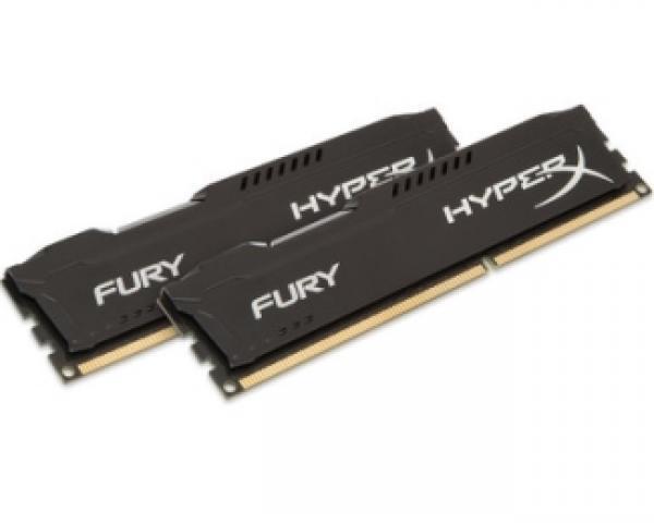 KINGSTON DIMM DDR3 16GB (2x8GB kit) 1866MHz HX318C10FBK2/16 HyperX Fury Black