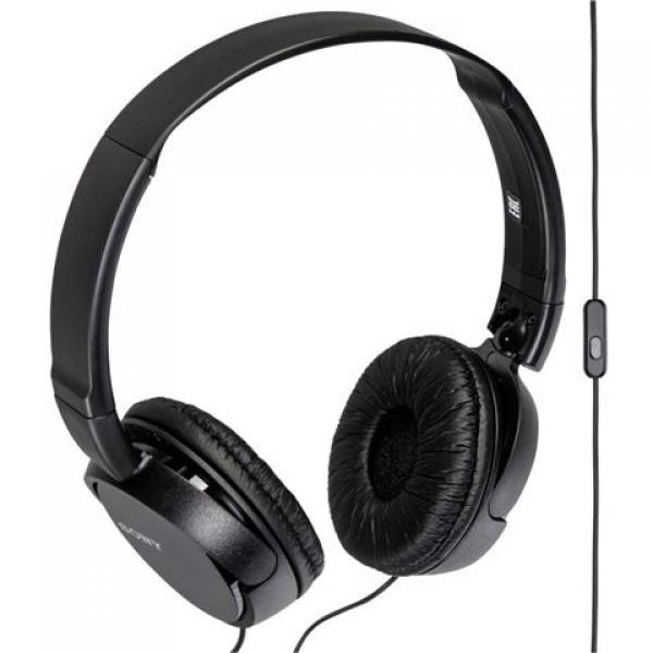 SONY slušalice MDR-ZX110APB black sa mikrofonom