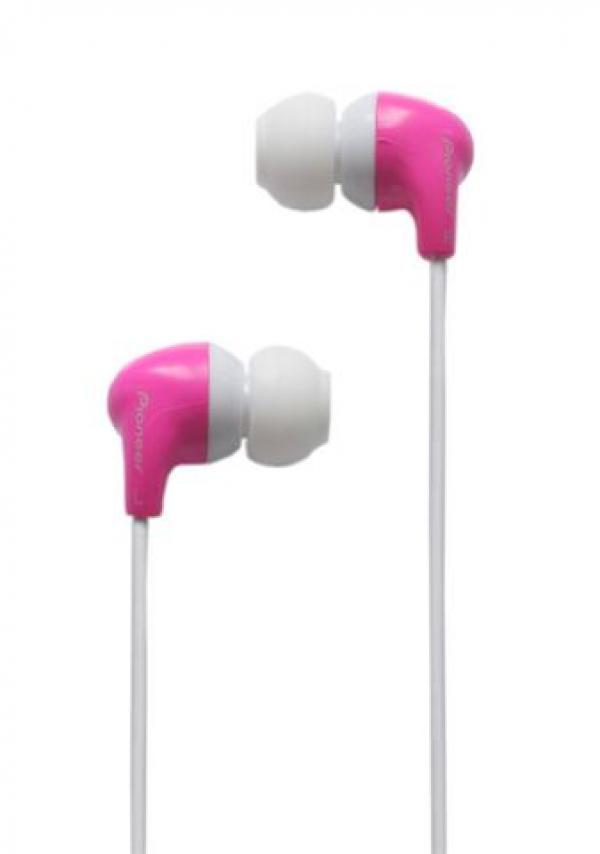 Pioneer slušalice SE-CL501-P roze