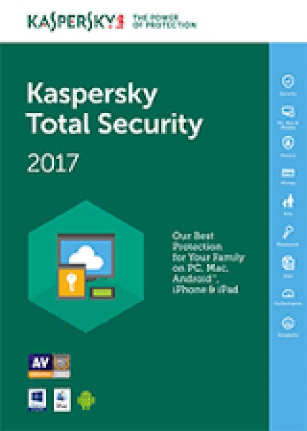 Kaspersky Total Security - multi-device jedna godišnja licenca