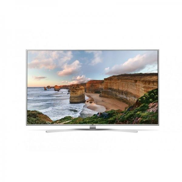 LG 55UH7707 LED TV 55 Super Ultra HD, WebOS 3.0 SMART, T2,Bright metal/Silver, Crescent stand