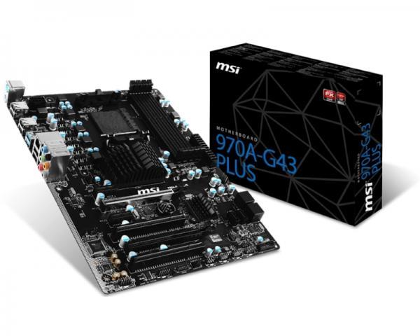 MSI 970A-G43 PLUS