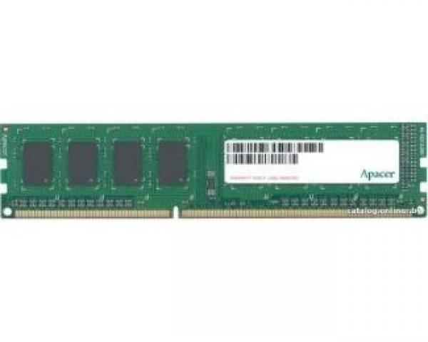 APACER DIMM DDR3 4GB 1066MHz AU04GFA06C7QBGC