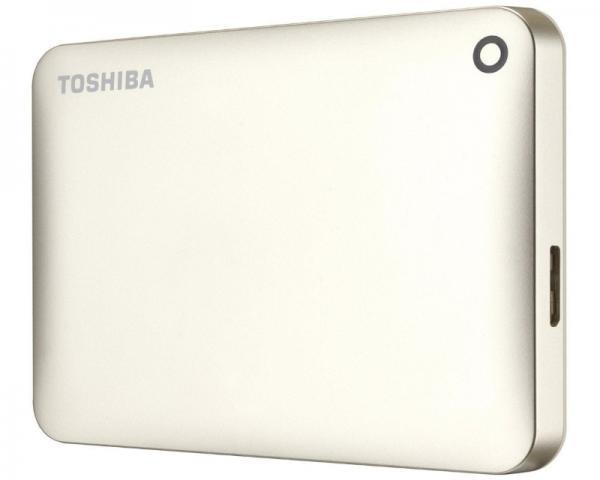 TOSHIBA Canvio Connect II 1TB 2.5 zlatni eksterni hard disk HDTC810EC3AA
