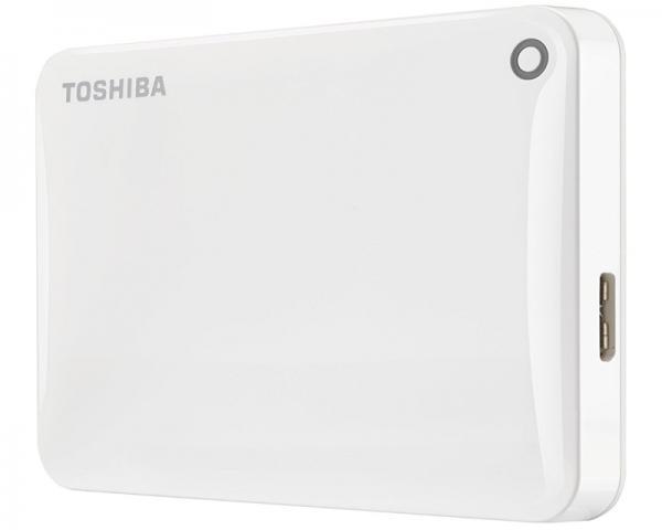TOSHIBA Canvio Connect II 1TB 2.5 beli eksterni hard HDTC810EW3AA