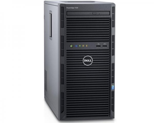 DELL PowerEdge T130 Xeon E3-1220 v5  4-Core 3.0GHz (3.5GHz) 8GB 1TB 3yr NBD