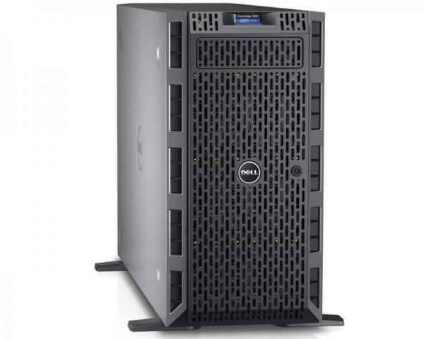 DELL PowerEdge T630 2 x Xeon E5-2630 v4 10-Core 2.2GHz (3.1GHz) 32GB 2x300GB SAS 2x8GB SD 3yr NBD