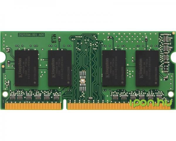 KINGSTON SODIMM DDR3 2GB 1333MHz KVR13S9S6/2