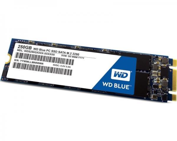 WD 250GB M.2 SATA III WDS250G1B0B Blue