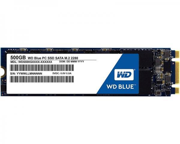 WD 500GB M.2 SATA III WDS500G1B0B Blue