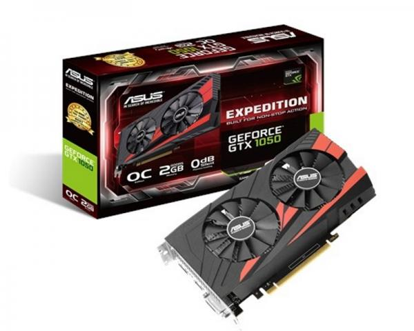 ASUS nVidia GeForce GTX 1050 2GB 128bit EX-GTX1050-O2G