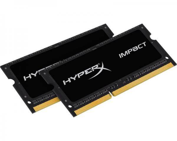 KINGSTON SODIMM DDR3 16GB (2x8GB kit) 2133MHz HX321LS11IB2K2/16 HyperX Impact