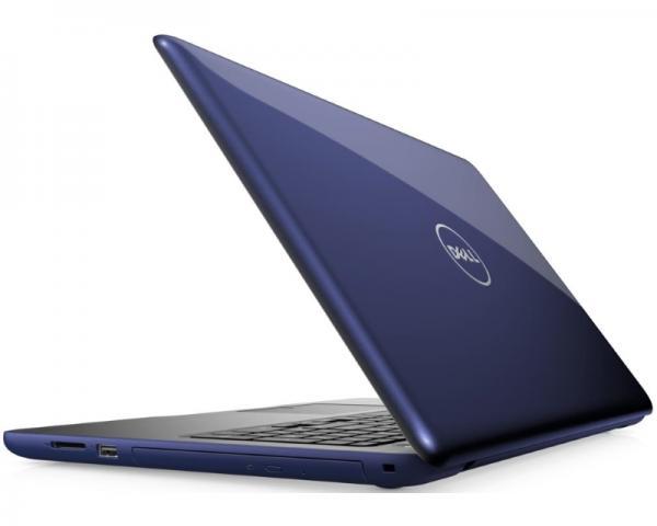 DELL Inspiron 15 (5567) 15.6 Intel Core i5-7200U 2.5GHz (3.1GHz) 4GB 500GB Radeon R7 M445 2GB 3-cell ODD midnight blue Ubuntu 5Y5B
