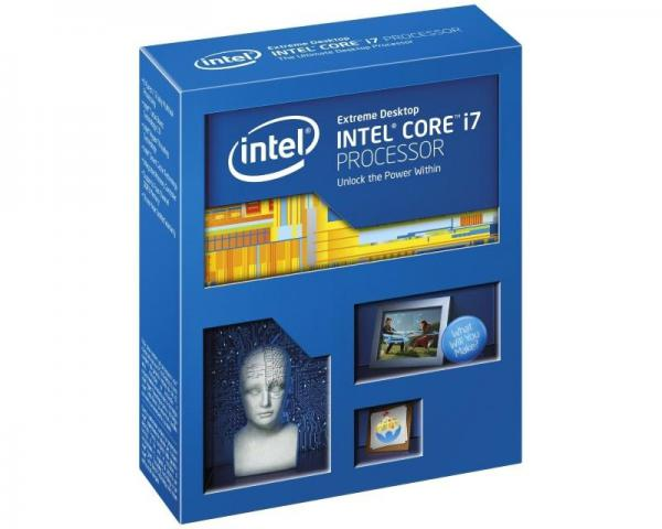 INTEL Core i7-5820K 6 cores 3.3GHz (3.6GHz) Box