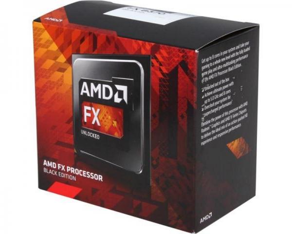 AMD FX-8370 8 cores 4.0GHz (4.3GHz) Black Edition Box with Wraith Cooler