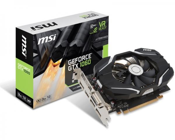 MSI nVidia GeForce GTX 1060 3GB 192bit GTX 1060 3G OC