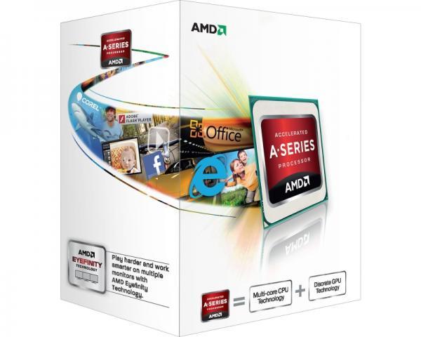 AMD A4-4000 2 cores 3.0GHz (3.2GHz) Radeon HD 7480D Box