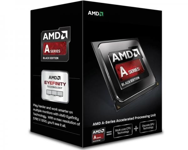 AMD A6-6400K 2 cores 3.9GHz (4.1GHz) Radeon HD 8470D Black Edition Box
