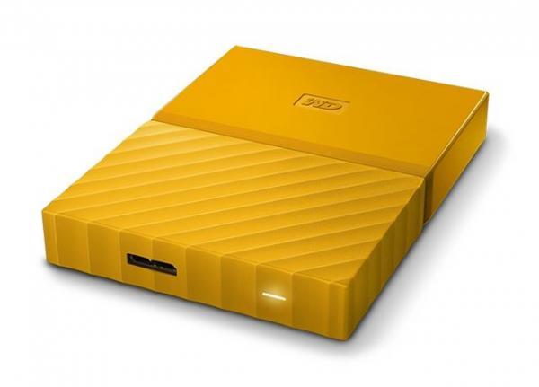 Externi hard Disk WD My Passport Yellow 4TB