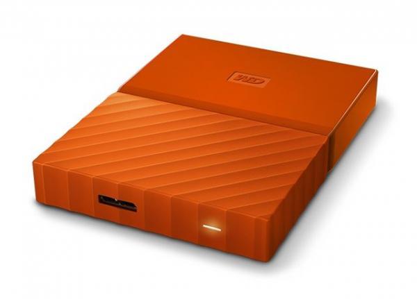Externi hard Disk WD My Passport Orange 2TB