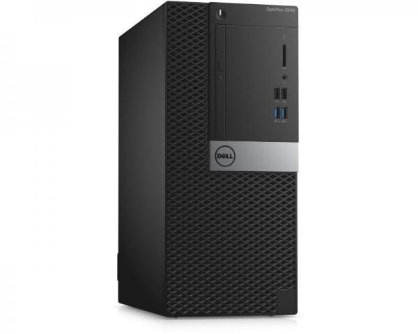 DELL OptiPlex 3040 MT Pentium G4400 2-core 3.3GHz 4GB 500GB Ubuntu + tastatura + miš 3yr NBD