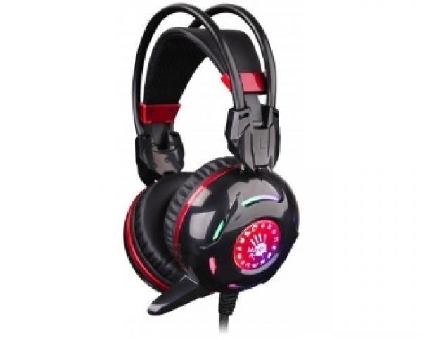 A4 TECH G300 Bloody Gaming slušalice sa mikrofonom crno-crvene