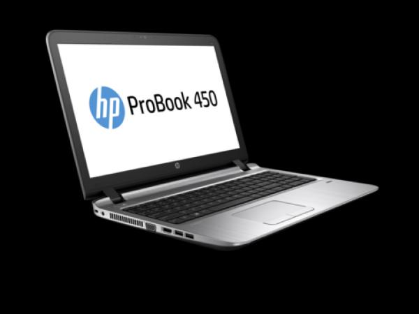 HP ProBook 450 G3 i3-6100U/15.6HD/4GB/500GB/HD Graphics 520/DVDRW/FreeDOS/EN (W4P57EA)