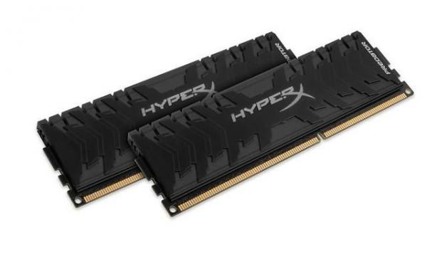 Kingston DIMM DDR3 8GB (2x4GB) 2400MHz HX324C11PB3K2/8 HyperX PREDATOR Black