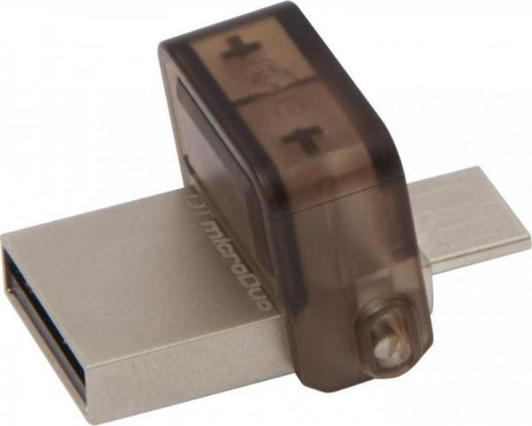 Kingston 16GB DT MicroDuo USB 2.0 DTDUO/16GB metal-braon