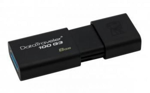 Kingston 8GB DT USB 3.0 DT100G3/8GB crni
