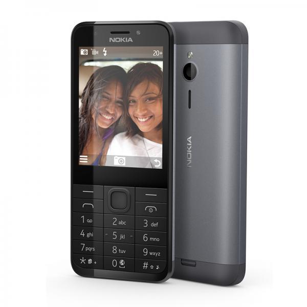 Nokia 230 DS Silver Dual Sim