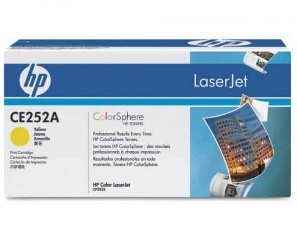 HP Toner Yellow CLJ CM3530/CP3525 [CE252A]