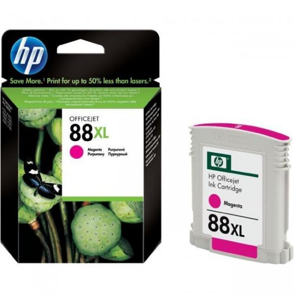 HP No.88 Large Magenta Ink Cartridge with Vivera Ink (za Officejet Pro K550, L7480/L7680) [C9392AE]