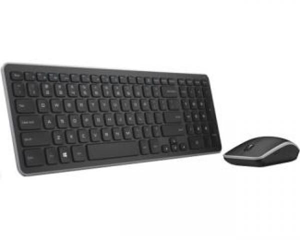 DELL KM714 Wireless US tastatura + miš crna