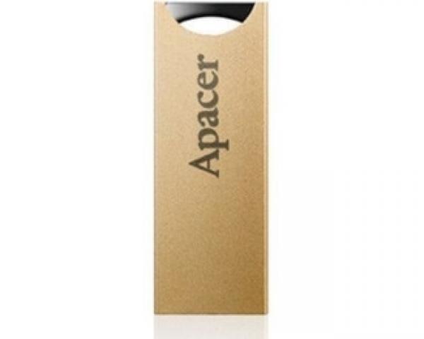 APACER 32GB AH133 USB 2.0 flash champagne zlatni