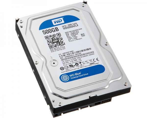WD 500GB 3.5 SATA III 32MB 7.200rpm WD5000AZLX Blue