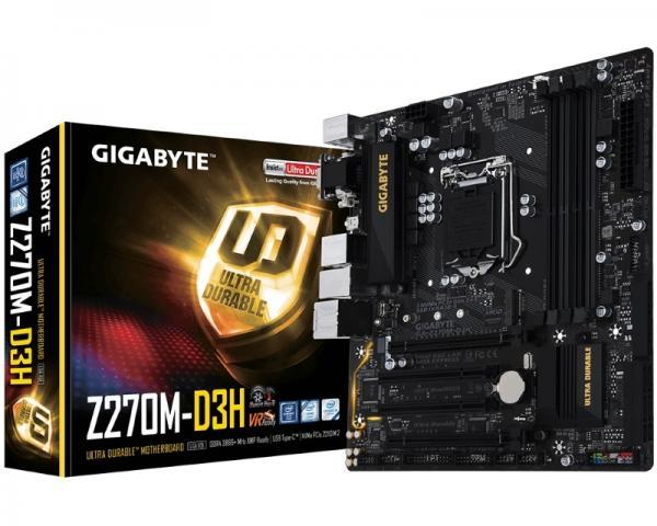 GIGABYTE GA-Z270M-D3H rev.1.0
