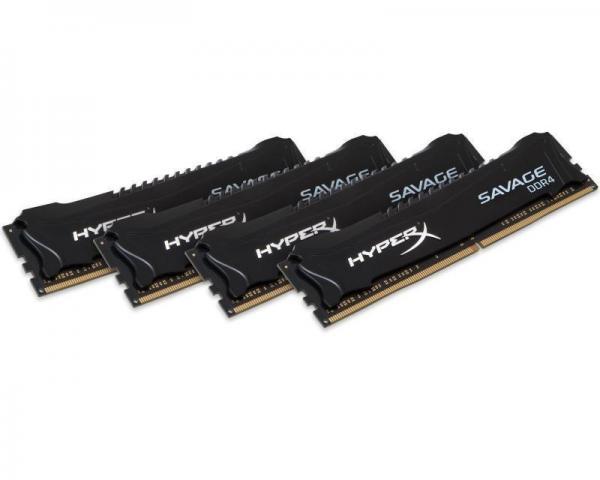 KINGSTON DIMM DDR4 64GB (4x16GB kit) 2666MHz HX426C15SBK4/64 HyperX Savage