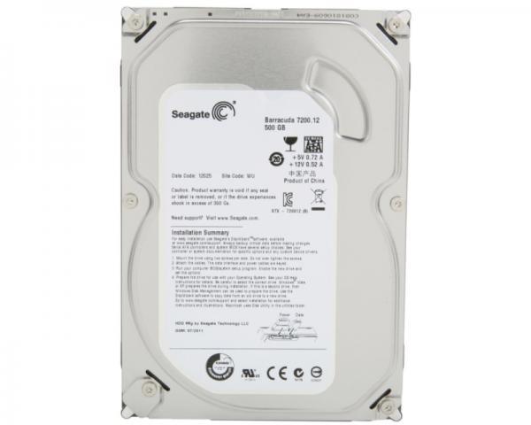 SEAGATE 500GB 3.5 SATA III 16MB ST500DM002 Barracuda