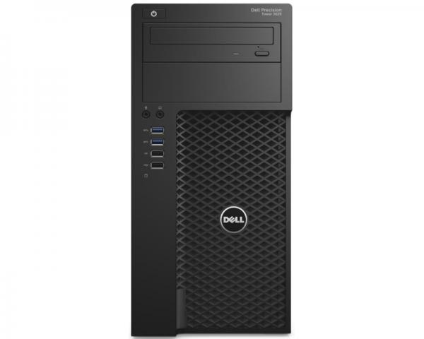 DELL Precision T3620 MT Xeon E3-1220 v5 4-Core 3GHz (3.5GHz) 8GB 1TB nVidia Quadro K620 2GB Windows 10 Professional 64bit + tastatura + miš 3yr NBD