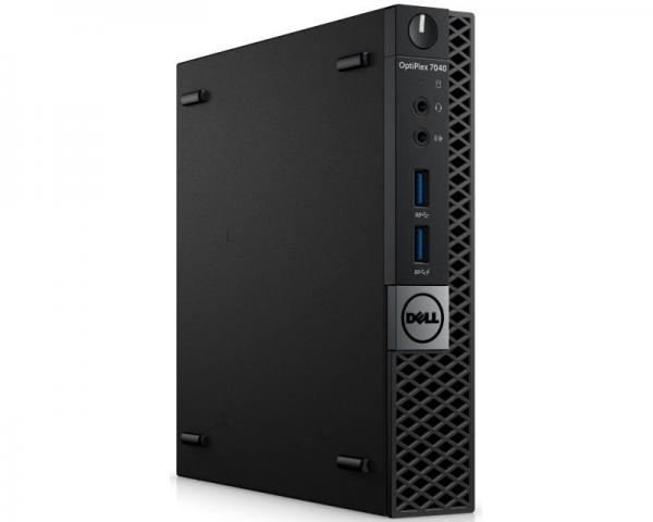 DELL OptiPlex 7040 Micro Core i5-6500T 4-Core 2.5GHz (3.1GHz) 4GB 500GB Windows 10 Professional 64bit + tastatura + miš 3yr NBD