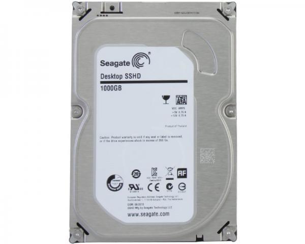 SEAGATE 1TB 3.5 SSHD SATA III MLC 8GB 64MB 7.200rpm ST1000DX001