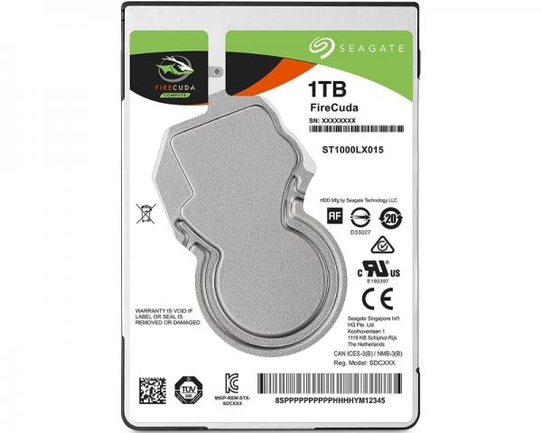 SEAGATE 1TB 2.5 SATA III 128MB 5.400 ST1000LX015