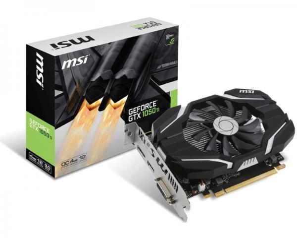MSI nVidia GeForce GTX 1050 Ti 4GB 128bit GTX 1050 Ti 4G OC