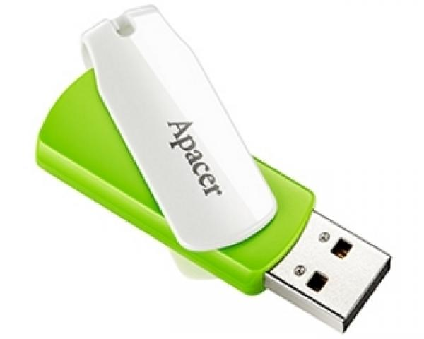 APACER 16GB AH335 USB 2.0 flash zeleni