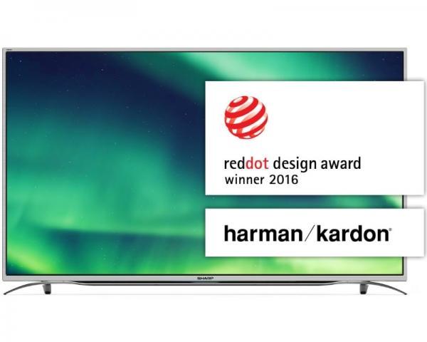 SHARP 55 LC-55CUF8372ES Smart 4K Ultra HD digital LED TV